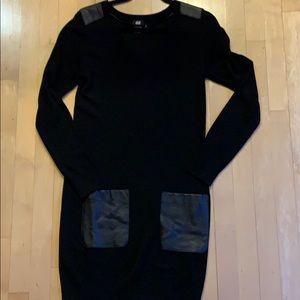 *4/25 H&M knit dress. S